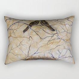 Bird n Birch  Rectangular Pillow