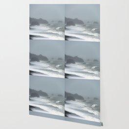 Pacific Northwest Beach Storm Wallpaper