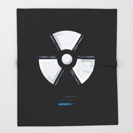 Polluted - Dinner Time Throw Blanket