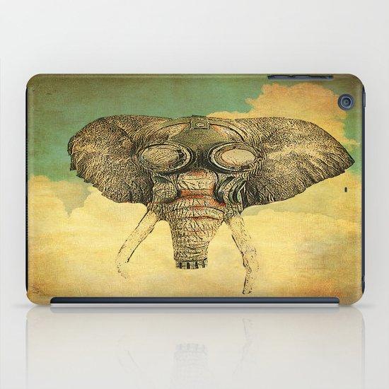 Gas mask for elephant iPad Case