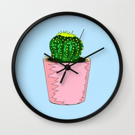 Prickly Mood Wall Clock