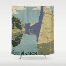 Fort Marion Shower Curtain