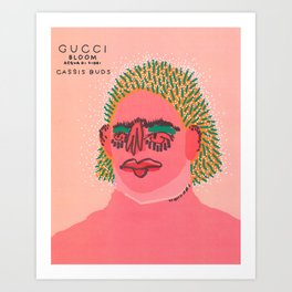 Cassis Buds Art Print