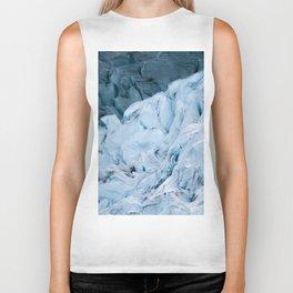 Blue Glacier in Norway - Landscape Photography Biker Tank