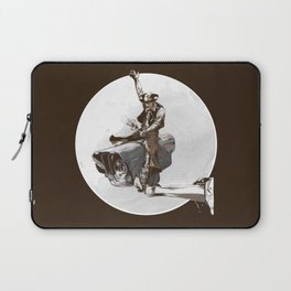 Media Rodeo: Big Brother is watching you Laptop Sleeve