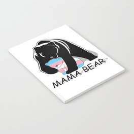 Mama Bear Transgender Notebook