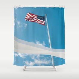 Pearl Harbor Shower Curtain