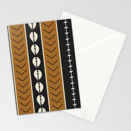Let's play mudcloth Stationery Cards