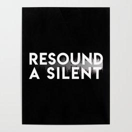 Resound a Silent Dark Poster