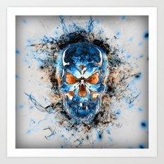 Skull Origins V2 Art Print