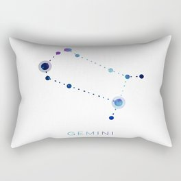 GEMINI STAR CONSTELLATION ZODIAC SIGN Rectangular Pillow