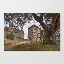 St Mary Sullington Canvas Print