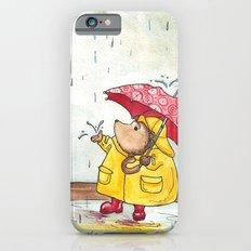 Rainy Day Hedgehog iPhone 6s Slim Case