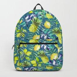Pineapple lemon leaves Backpack