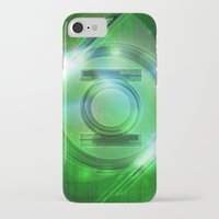 green lantern iPhone & iPod Cases featuring Green Lantern by Tobia Crivellari