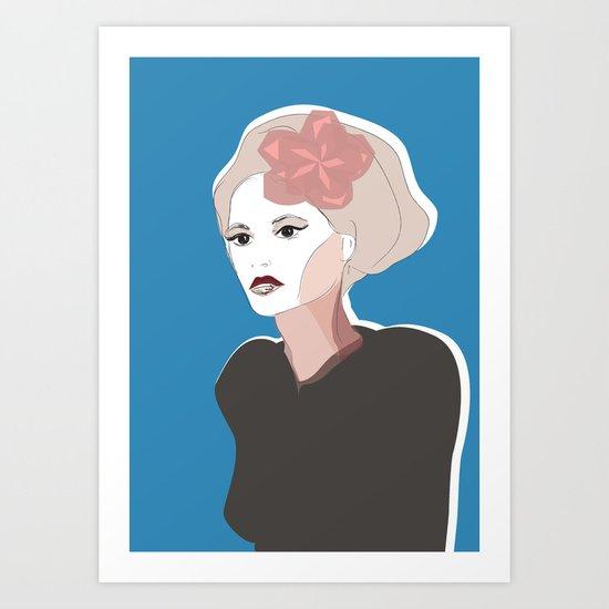 Facing Best Art Print