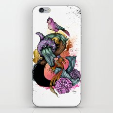 Bright Stylised Ampersand Illustration iPhone & iPod Skin