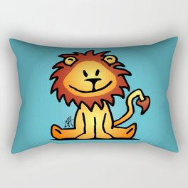 Cute little lion Rectangular Pillow