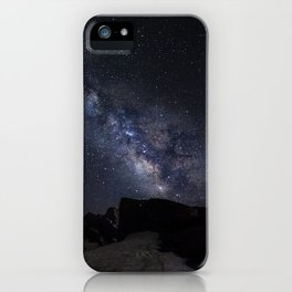 Milkyway at the mountains. Scorpius and Sagitarius iPhone Case
