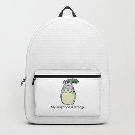 My Neighbor is Strange Backpack