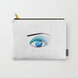 Eye to watch the world Carry-All Pouch