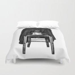 rustic chair Duvet Cover
