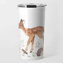 Woodland Friends Travel Mug