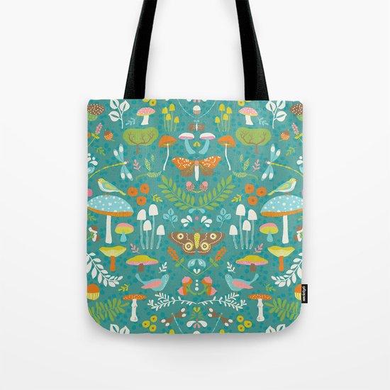 Flora Autumn Tote Bag