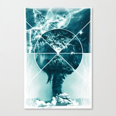 Atomic Space Canvas Print