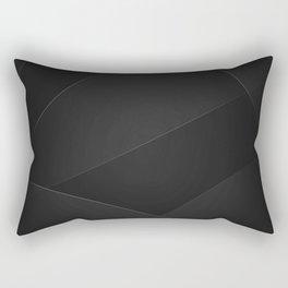 Cod Gray & Mine Shaft Colors Rectangular Pillow