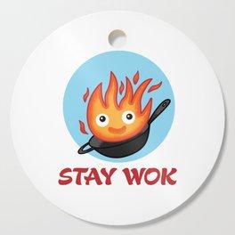 Stay Wok Cutting Board