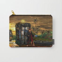 10th Doctor who Lost in the pirates age iPhone 4 4s 5 5s 5c, ipod, ipad, pillow case and tshirt Carry-All Pouch