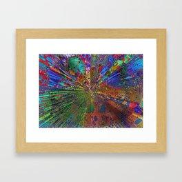 swap througth the future Framed Art Print