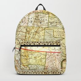 1867 USA Map Backpack