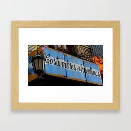 Argentine Culture Framed Art Print