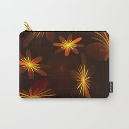 Dancing Flowers Fractal Art Carry-All Pouch