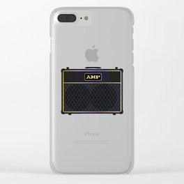 Electric Guitar Amplifier Clear iPhone Case