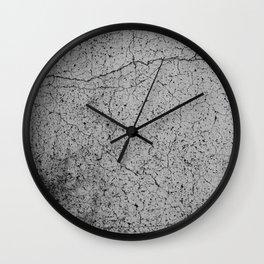 concrete 8 Wall Clock