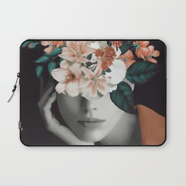 WOMAN WITH FLOWERS 7 Laptop Sleeve