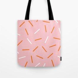 Pink Sprinkles Tote Bag