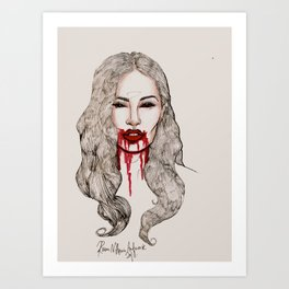 No, I'm Killing Boys Art Print