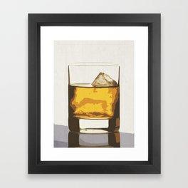 Old Scotch Whiskey Framed Art Print