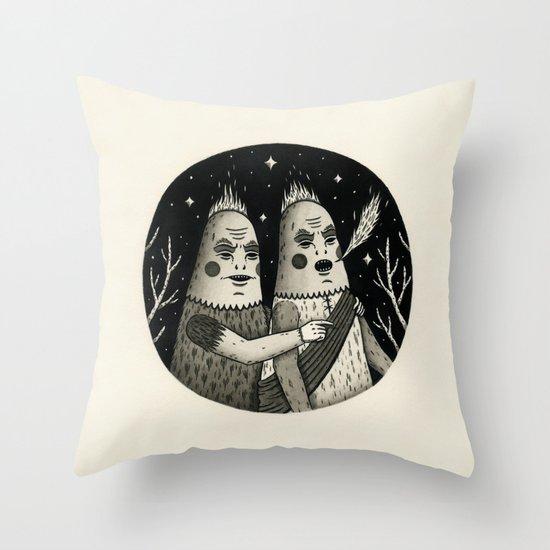 Just an Observation Throw Pillow