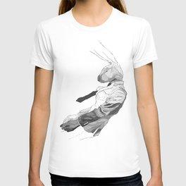 Falling Mr. Lapin T-shirt