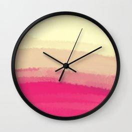 Sea - Line Clolor Pattern V8 Wall Clock