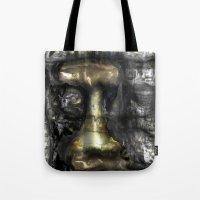 camus Tote Bags featuring Camus by John Hansen