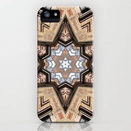 Architectural Star of David iPhone Case