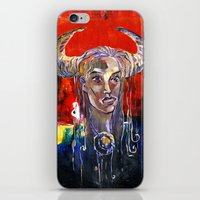 native iPhone & iPod Skins featuring NATIVE by kaiartem