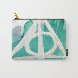 Watercolor Hallows Carry-All Pouch