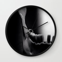 DEATH by Igh Kihl Media Piffington Kushfield Photography Wall Clock